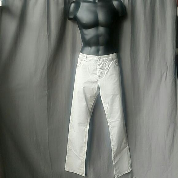 Isaia Other - Isaia Napoli Gray Denim Jeans Men's Size 40 US